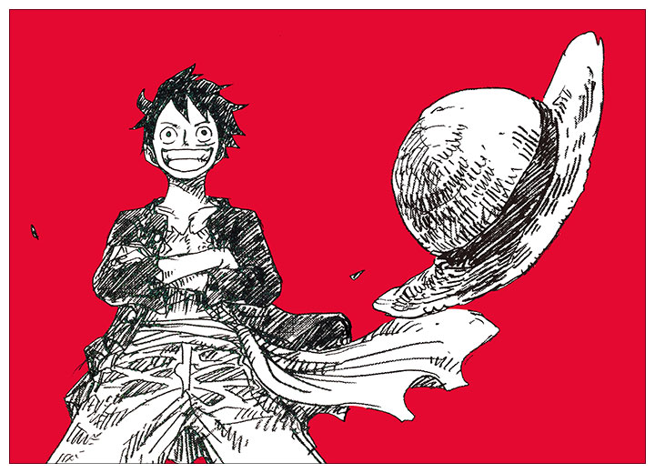 Хардпостер (на твёрдой основе) One Piece / Ван-Пис / Ван Пис / Wanpiisu / ワンピース